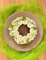 Recette de gâteau de pâques à la menthe et au chocolat