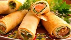 Crêpes bretonnes au saumon pour 4 personnes