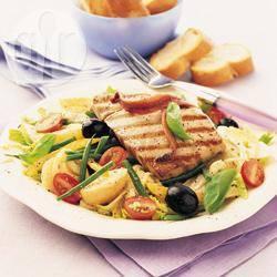 Recette steaks de thon à la niçoise – toutes les recettes allrecipes