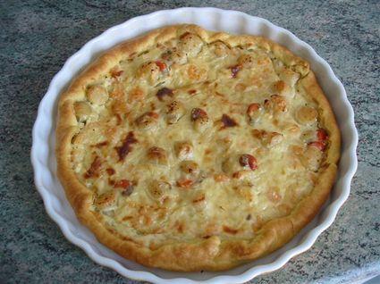 Recette de tarte aux fruits de mer