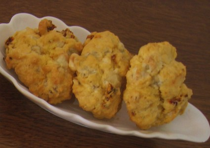 Recette de cookies à la fourme d'ambert