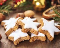 Recette biscuits de noël à la cannelle