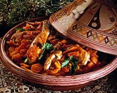 Recette tajine de poulet aux épices