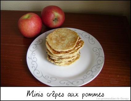 Recette de mini crêpes aux pommes