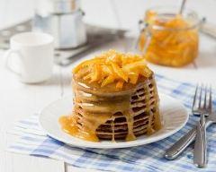 Recette pancakes faciles au caramel beurre salé