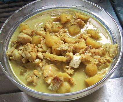 Recette de curry de poisson au lait de coco