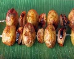 Recette brochettes de pommes de terre