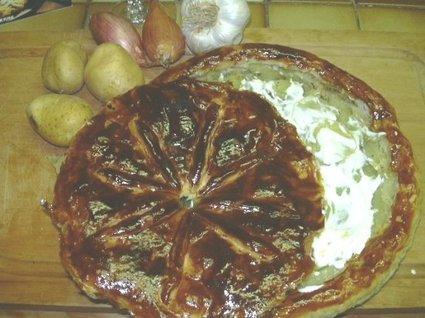 Recette pâté aux pommes de terre (tourte)