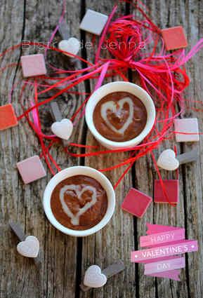 Recette de mousse légère au chocolat et gingembre confit