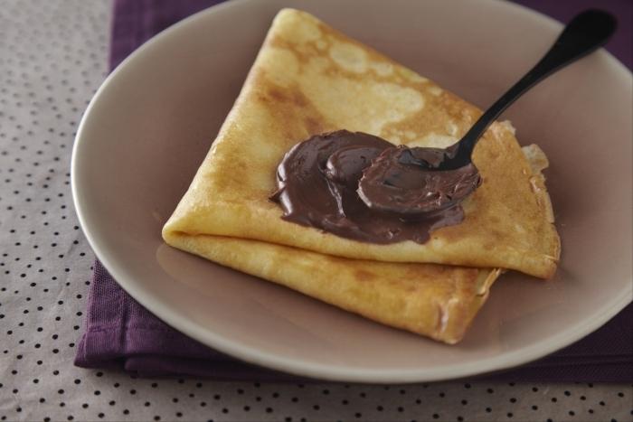Recette de crêpes faciles au chocolat rapide