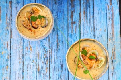 Recette de soupe thaï aux palourdes