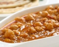 Recette soupe de pois chiches indienne