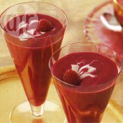 Recette velouté de betteraves et framboises – toutes les recettes ...