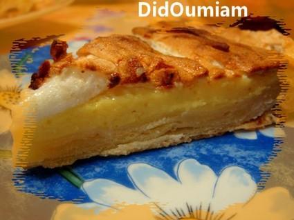 Recette tarte au citron meringuée simple et rapide (tarte dessert)