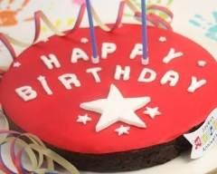 Recette gâteau d'anniversaire au chocolat croustillant