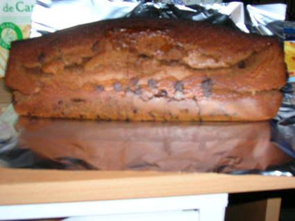 Recette de gâteau au yaourt au chocolat praliné & pépites