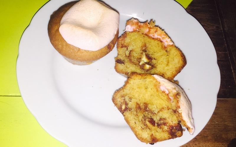 Recette cupcakes kinder/chamallows économique et simple ...
