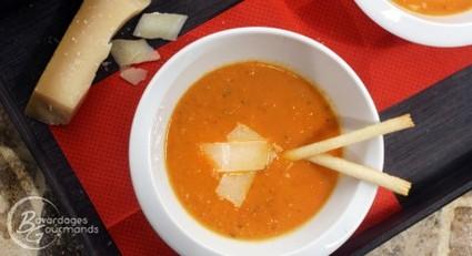 Recette velouté de tomate (potage, soupe)