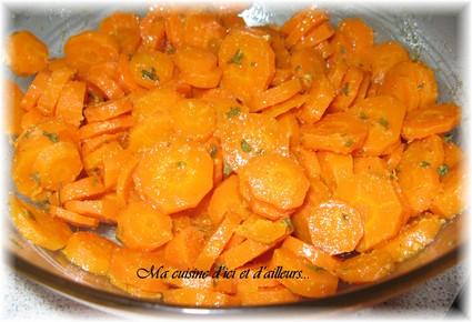 Recette de salade de carottes marinées