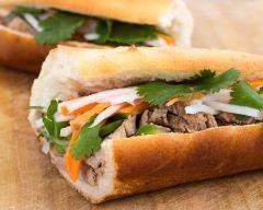 Recette banh-mi (sandwich vietnamien épicé)