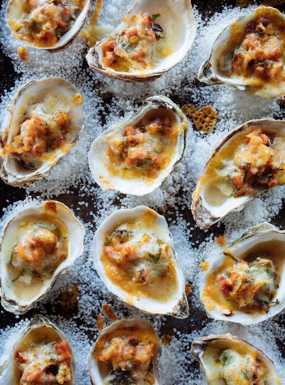 Huîtres au chorizo gratinées | ricardo