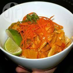 Recette curry rouge de poulet à la thaïlandaise – toutes les ...