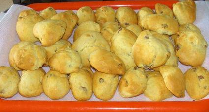 Recette de madeleines raisins secs et fleur d'oranger