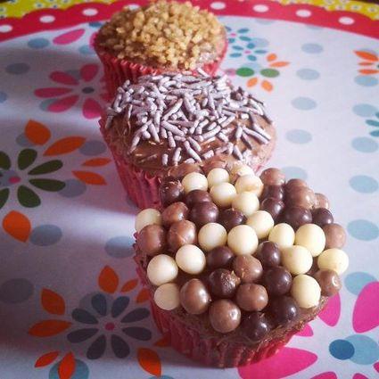 Recette de mini cupcakes chocolat-noisettes