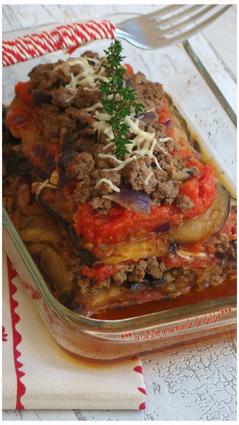 Recette de lasagne d'aubergine et boeuf