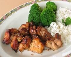 Recette brochettes de poulet grillées à la japonaise sans gluten