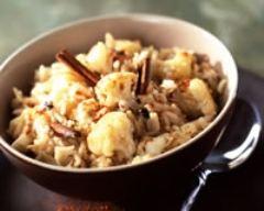 Recette riz pilaf au chou-fleur et aux épices