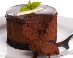 Recette bavarois au chocolat allégé