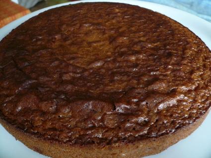 Recette de gâteau chocolat-noisettes