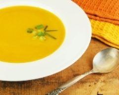 Recette soupe de légumes aux lardons