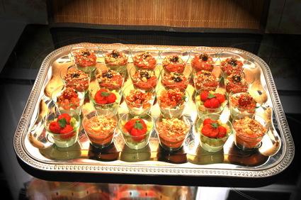 Recette de verrines de mousse d'avocat et de tomates confites