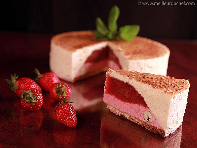 Délice de fraises au parfum de verveine  la recette illustrée ...