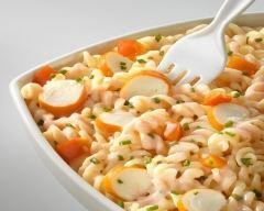 Recette salade de pâtes au surimi rapide