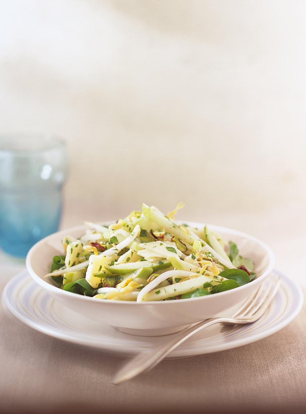 Salade de pommes vertes et de cheddar | ricardo