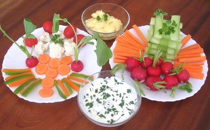 Recette apéro végétarien