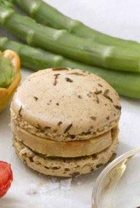 Recette de macarons au cœur de foie gras