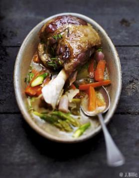 Navarin de souris d'agneau, légumes de printemps pour 6 ...