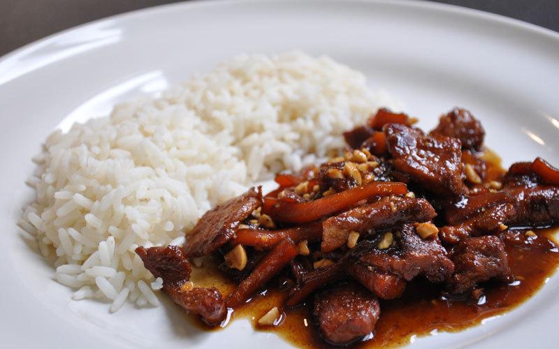 Recette porc au caramel pas chère et simple > cuisine étudiant