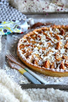 Recette de tarte délice pommes et marrons