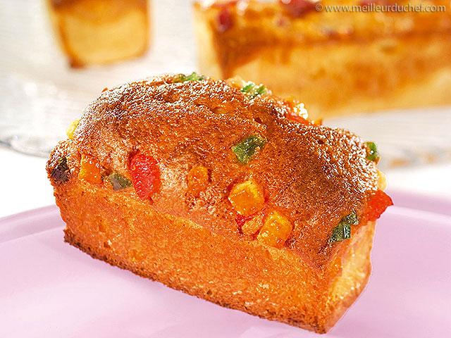 Cake aux fruits confits  recette de cuisine avec photos ...
