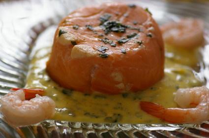 Recette de mousse de poisson au saumon fumé