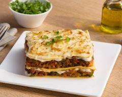 Recette lasagnes végétales aux poireaux, tomates et soja