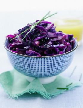Salade de chou rouge pour 2 personnes