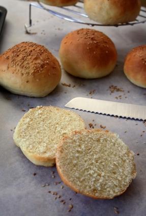 Recette de pain pour burger maison