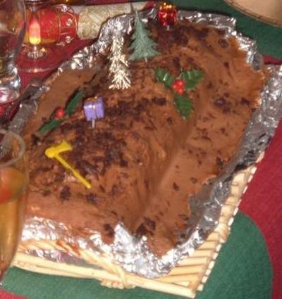 Recette de bûche de noël au chocolat