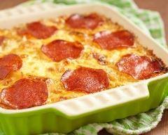 Recette tartiflette au pepperoni à la crème